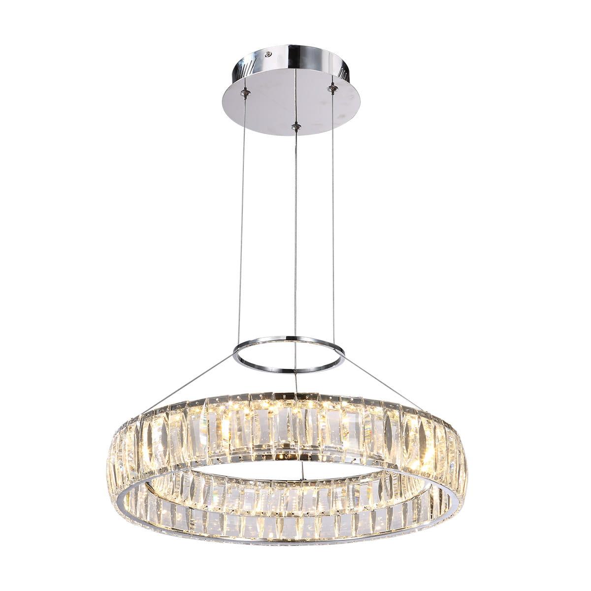 Italux Nowoczesna Lampa Kryształowa Led 30w Maxis Md14066703 1a