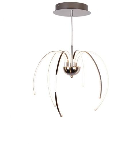 Z Line Nowoczesna Lampa żyrandol Led Spider 30w Chrom Lagunalighting