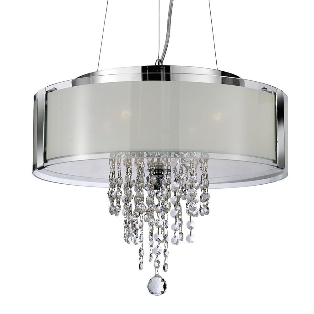 S Light Nowoczesny żyrandol Z Kryształami Chrom Lagunalighting E Shop