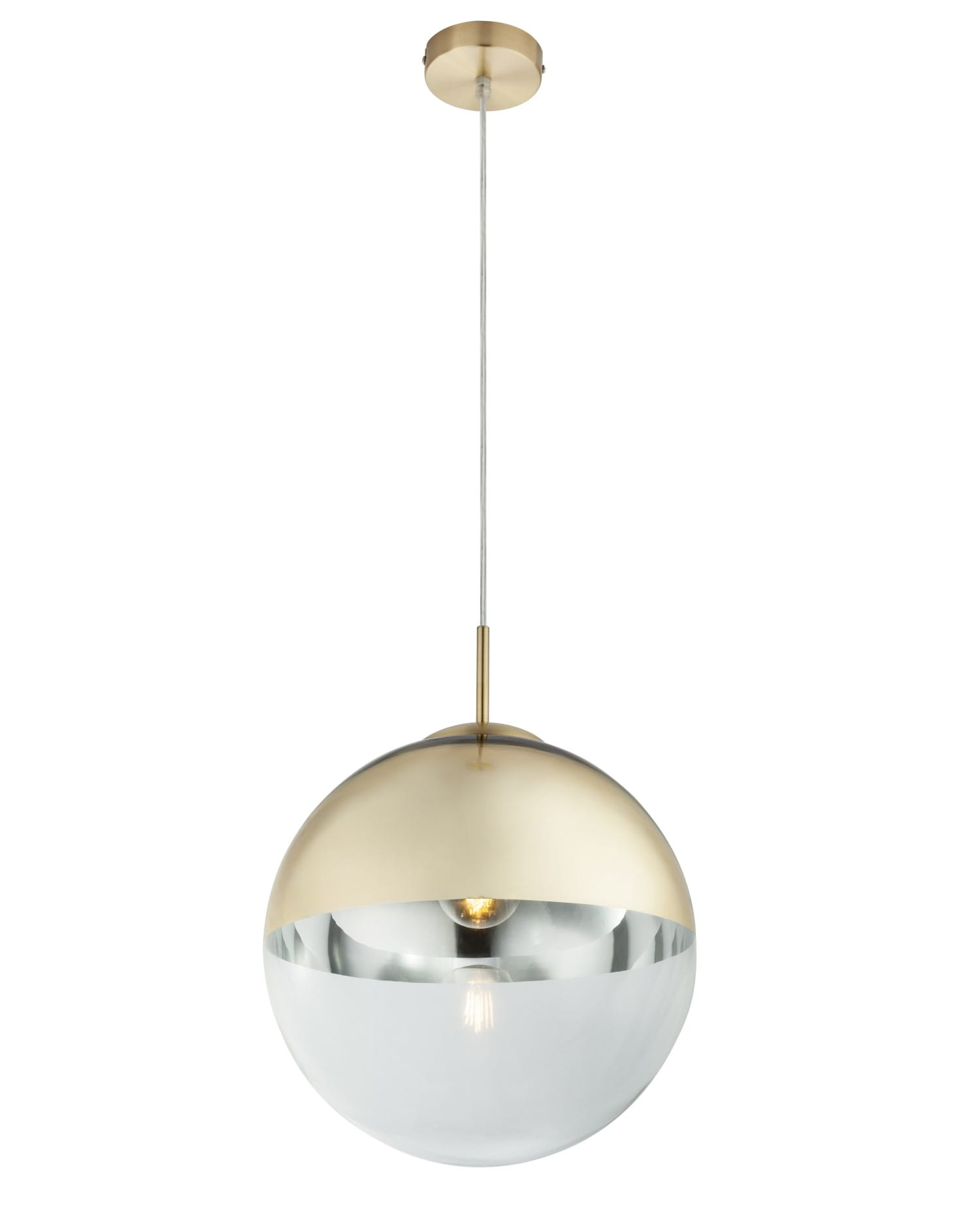 Globo Nowoczesna Lampa Wiszaca Kula Varus 15857 Gold Lagunalight E Shop