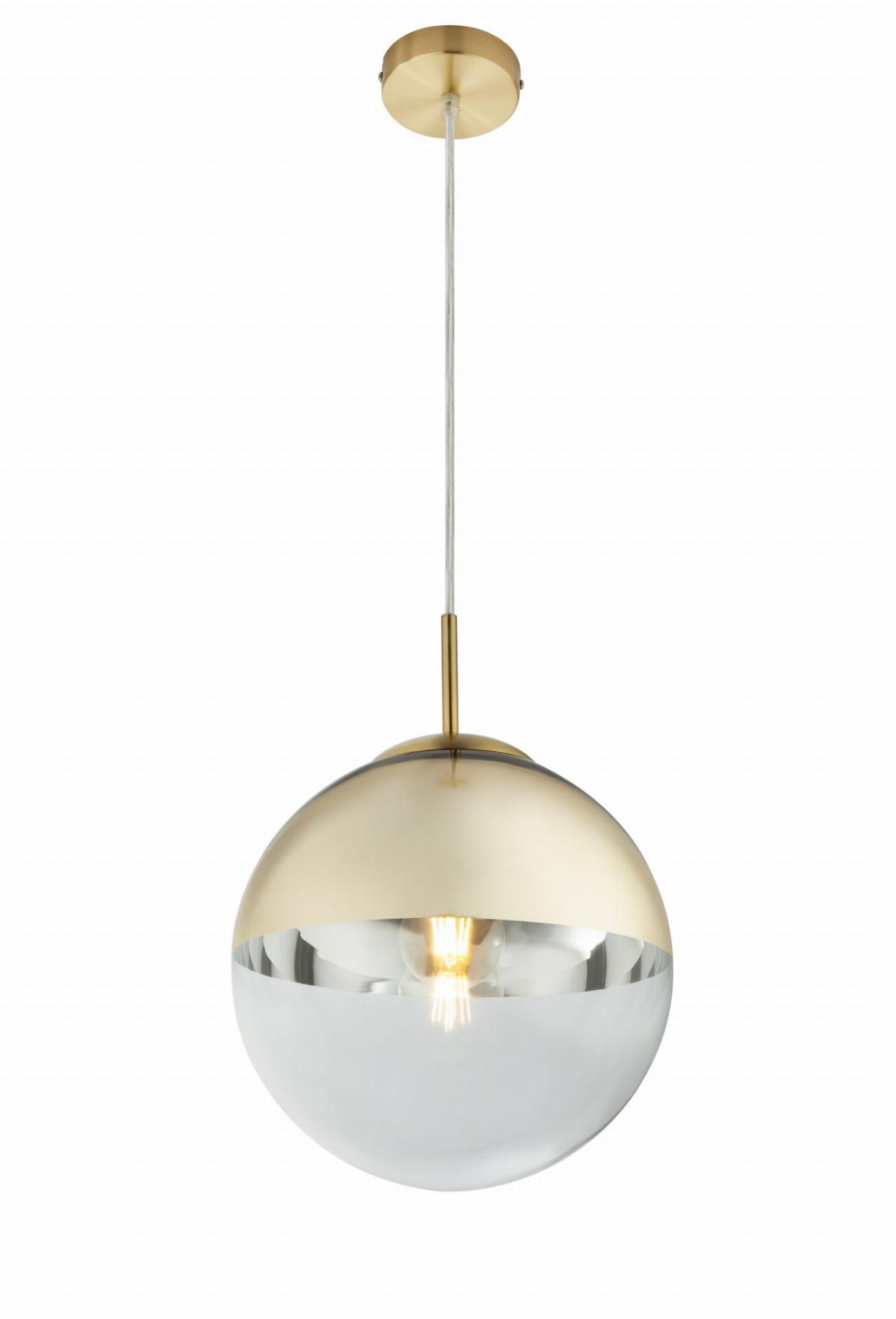 GLOBO NOWOCZESNA LAMPA WISZĄCA KULA VARUS 15856 GOLD